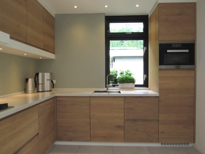 eigentijdse eiken keuken keukenmakerij houtengoed
