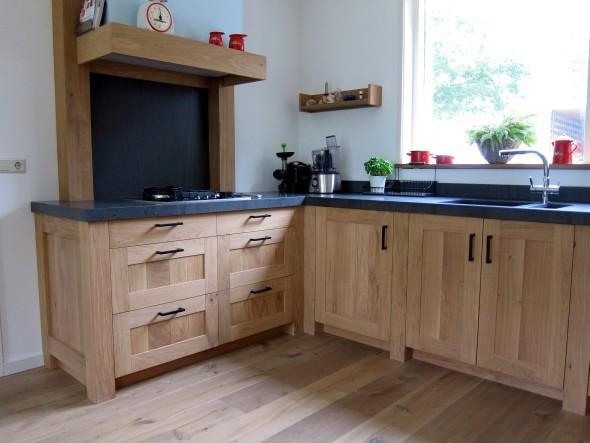 Keuken Eiken Landelijk : Houtengoed houten keukens en meubels op maat